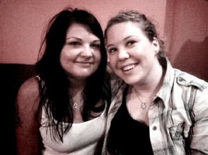Me & Christina ready for a new restaurant