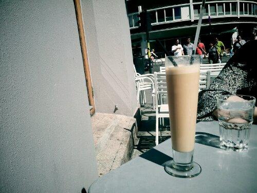 iced coffee @ Cafe Con Bar, Oslo